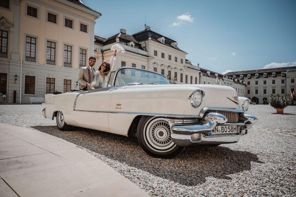 Oldtimer Erlebnis Cadillac Eldorado Biarritz Cabrio Stuttgart Ludwigsburg Heilbronn Backnang