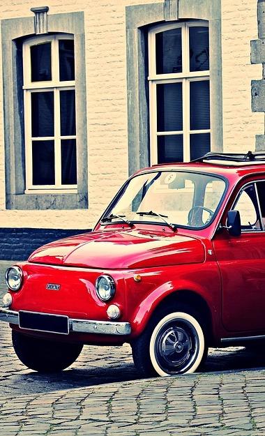 Oldtimer Erlebnis Fiat 500