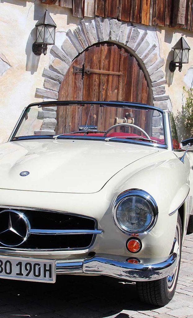 Oldtimer Erlebnis Mercedes Benz SL 190