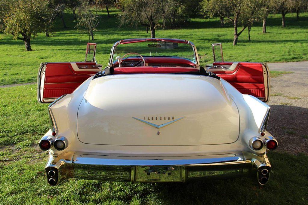 Cadillac Eldorado Biarritz Cabrio Oldtimer Erlebnis Bild 8
