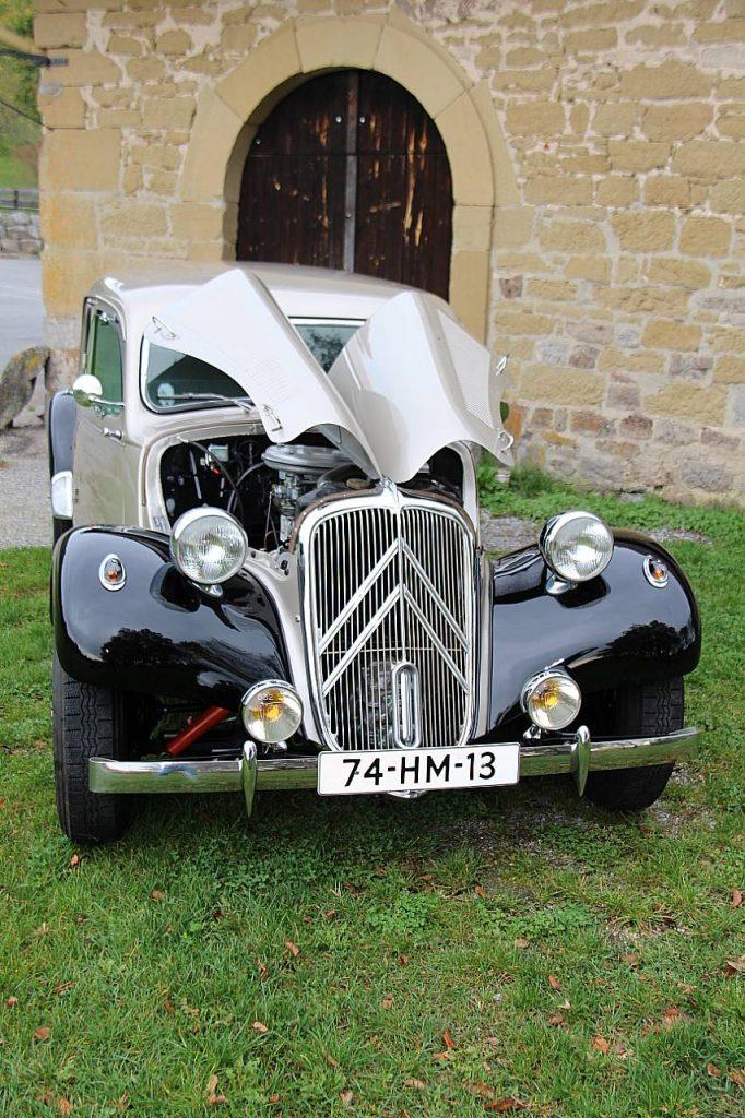 Citroën Traction Avant 11CV Oldtimer Erlebnis Homepage
