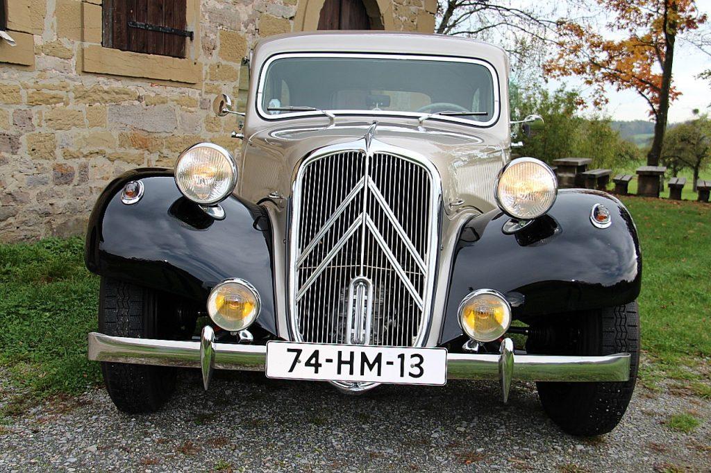 Citroën Traction Avant 11CV Oldtimer Erlebnis Bild 5