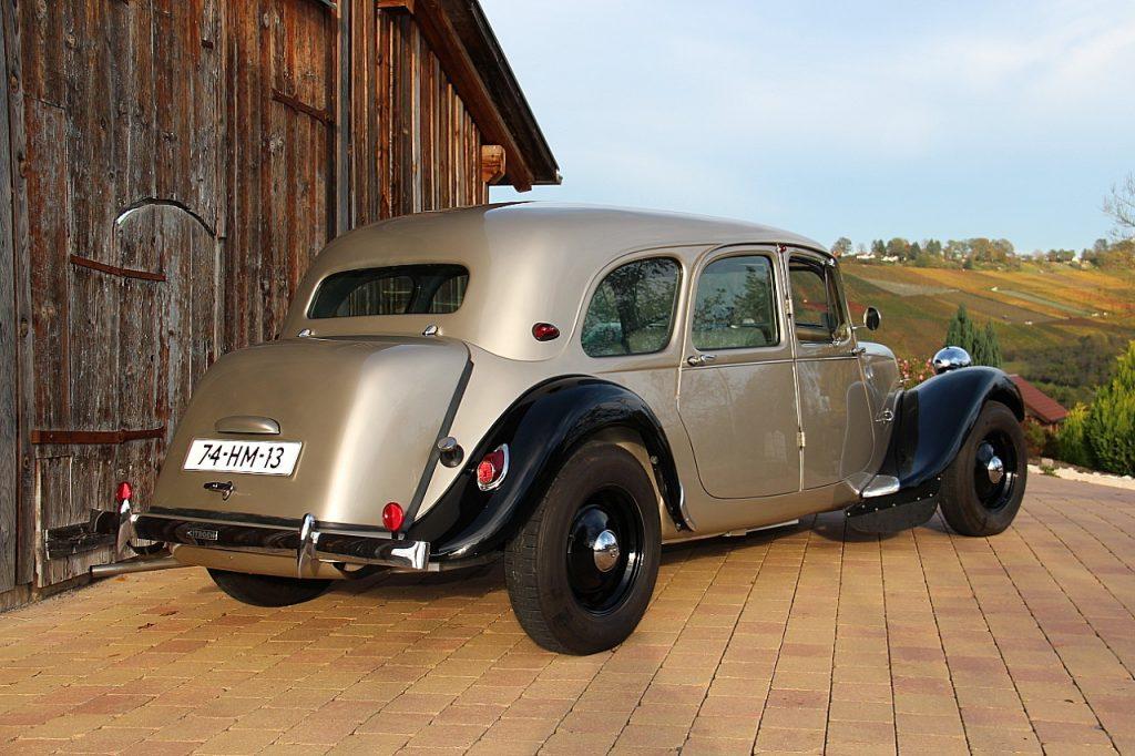 Citroën Traction Avant 11CV Oldtimer Erlebnis Bild 7