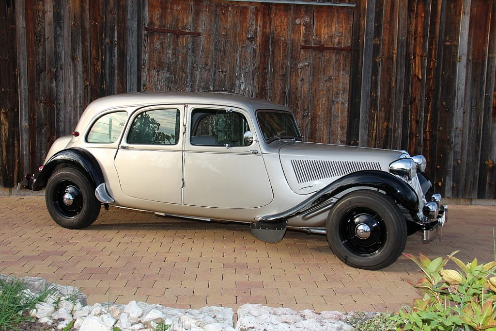 Citroën Traction Avant 11CV Oldtimer Erlebnis Bild 8
