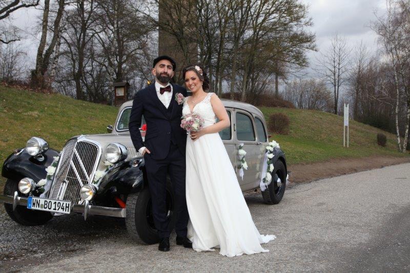 Oldtimer Erlebnis Citroen Traction Avant Hochzeit 3