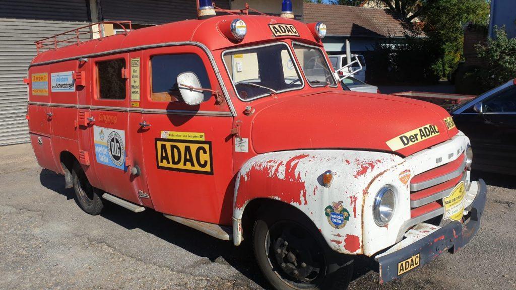 Opel Blitz Feuerwehr Oldtimer 1956 Oldtimer-Erlebnis 14