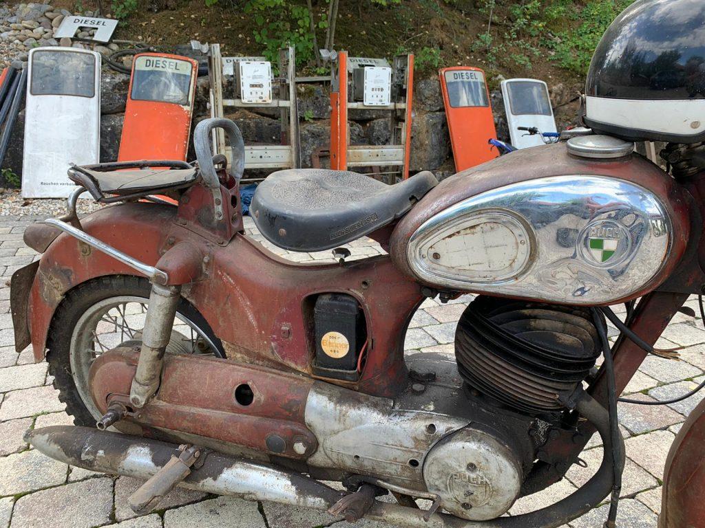 Puch-250-SGS-Baujahr-1954-Oldtimer-Erlebnis-14