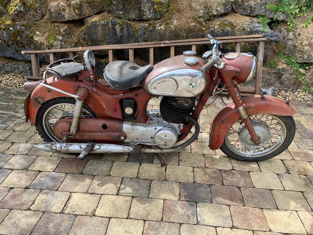 Puch-250-SGS-Baujahr-1954-Oldtimer-Erlebnis-16