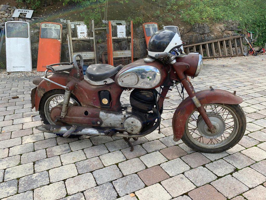 Puch-250-SGS-Baujahr-1954-Oldtimer-Erlebnis-32