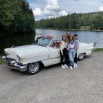Oldtimer Erlebnis Cadillac Eldorado Biarriz Cabrio Geburtstagsfahrt